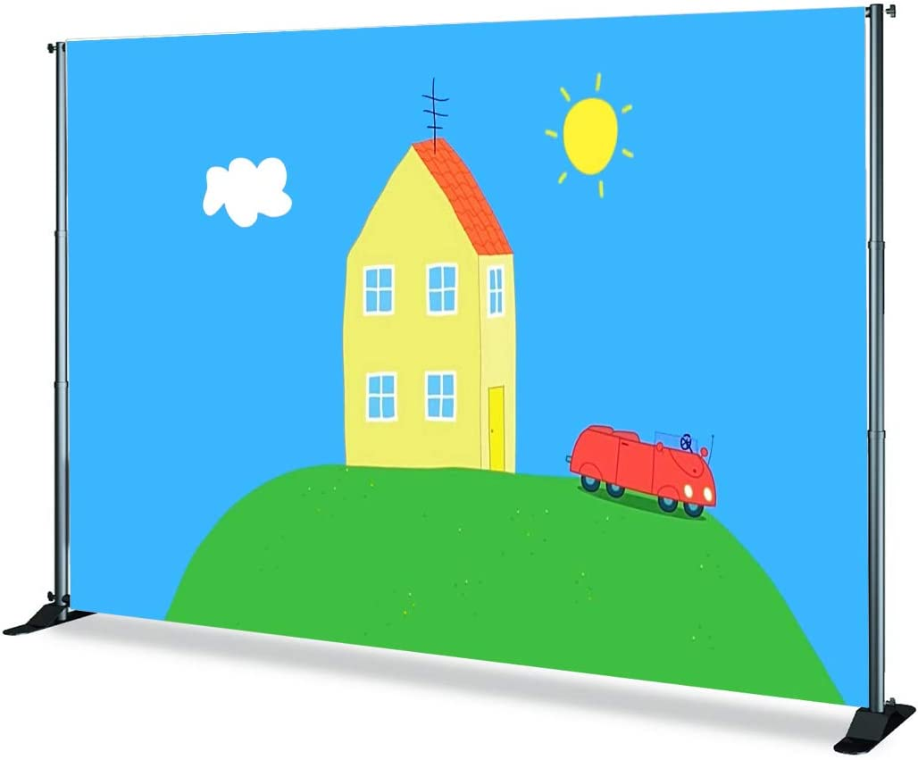 6x6ft,sxy0146 Levoo Cartoon Background Banner Photography Studio Children Baby Birthday Family Party Holiday Celebration Romantic Wedding Photography Backgdrop Cute Home Decoration