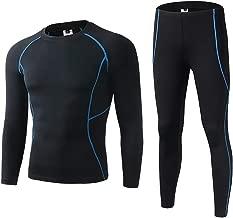 Sundried Mens Esecuzione Leggings Gym Training Collant a Compressione Tecnologia