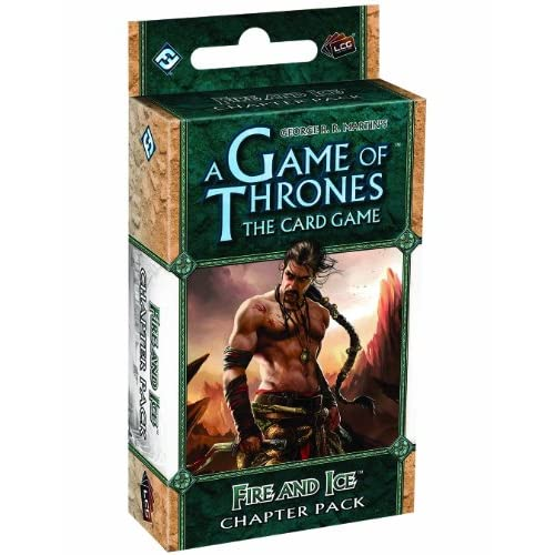Fantasy Flight Games A Game of Thrones Lcg: Fire And Ice Chapter Pack