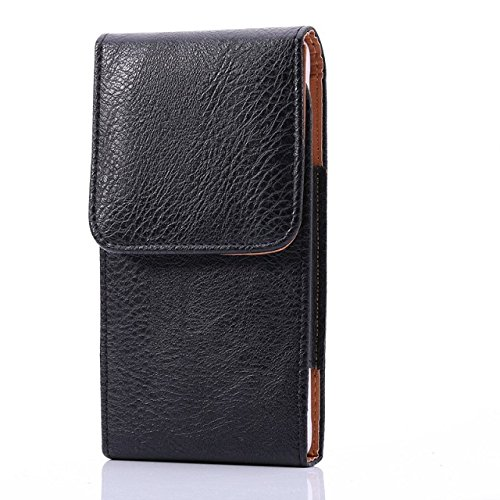 eBuymore Luxury PU Leather Vertical Belt Case Executive Holster for Samsung Galaxy J7 / iPhone 7 Plus / LG V20 / LG G Stylo 2 / Motorola Moto G4 / ZTE Blade V7
