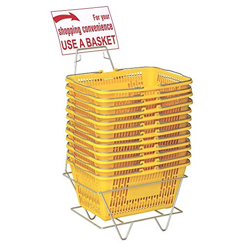 Only Hangers Plastic Shopping Baskets