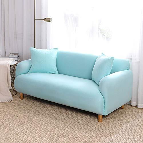 GOPG Funda elástica, doble resistente al desgaste, antideslizante, suave protector de muebles para sala de estar, infantil, gato, perro, 3 asientos, 190-230cm-G