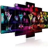 murando - Bilder Drink 200x100 cm Vlies Leinwandbild 5 TLG