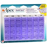 Apex MediChest Vitamin and Medication Organizer