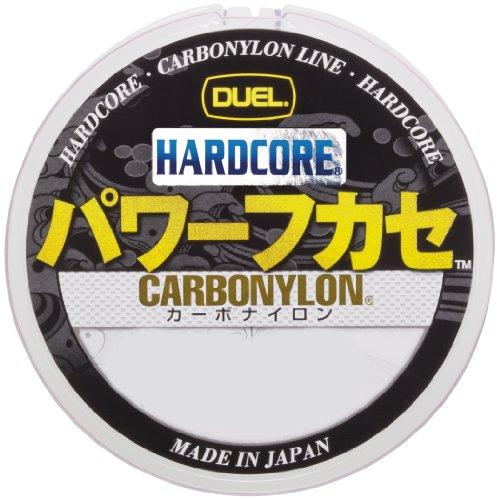 DUEL(デュエル) HARDCORE(ハードコア) カーボナイロンライン 1.75号 HARDCORE パワーフカセ 150m 1.75号 MG...