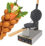 GorillaRock Egg Waffle Maker Electric Non Stick Easy Quick Egg Cooker 110V