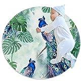 Yumansis Alfombra lavable niños círculo alfombra niños...