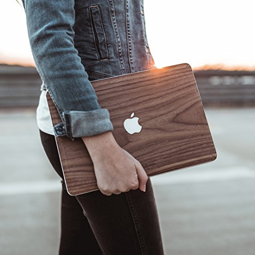 Woodcessories - Skin kompatibel mit MacBook 13 Air & Pro (bis 2016) aus Holz - EcoSkin (Bambus)