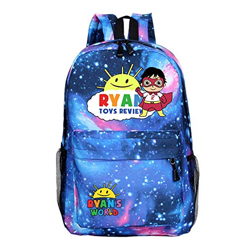 Ryan Backpack Toys Outdoor Travel Bag Review College Youth Style Schoolbag