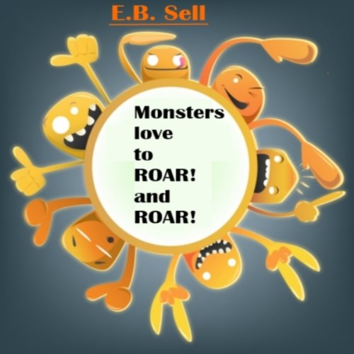 Monsters love to ROAR! and ROAR! audiobook cover art