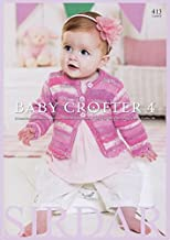Sirdar Baby Crofter 4 413 Knitting Pattern Book DK