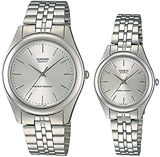 Casio His and Her pair watch MTP/LTP-1129A-7A