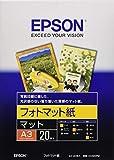 セイコーエプソン フォトマット紙 A3 KA320PM 1袋(20枚)