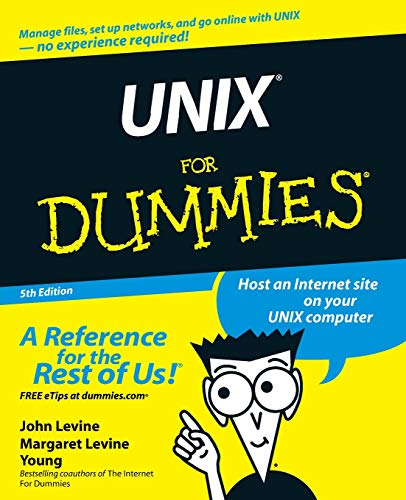 UNIX For Dummies, 5th Edition (For Dummies Series)