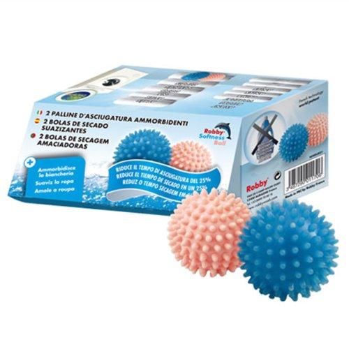 Boules assouplissante pour sèche linge pack de 2