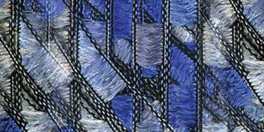 Lion Brand Trellis Yarn - Ocean