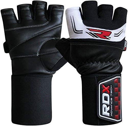 RDX Gym 3.5' Correas Guantes Gimnasio...