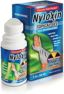 Nyloxin Pain Relieving Topical Gel, Roll-On Applicator (2 Ounces)