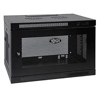 Tripp Lite 9U Wall Mount Rack Enclosure Server Cabinet 16.5  Deep Switch-Depth  SRW9U ,Black