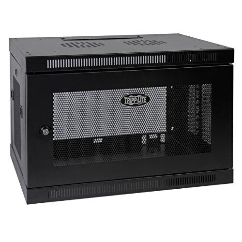 "Tripp Lite 9U Wall Mount Rack Enclosure Server Cabinet, 16.5"" Deep, Switch-Depth (SRW9U),Black"