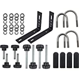 OPENROAD Recovery Boards Holder,Universal Roof Rack Bracket Fit Kit, Traction Mat Boards Mount Bracket (18pcs Traction Boards Accessories)