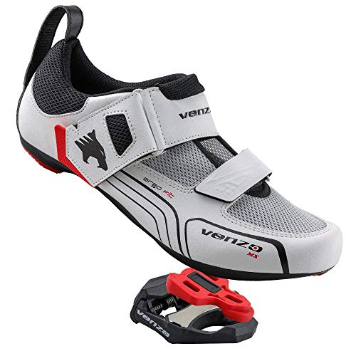 Venzo Triathlon Cycling Shoes