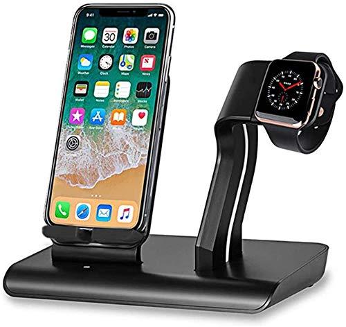 OH Qi Wireless Charger Stand Dock para Iphone 11 Pro Max Xr Xr Xs Max 8 8Plus Airpods Pro 5 4 3 2 1 Cargador Del Soporte Del Teléfono carga rápida