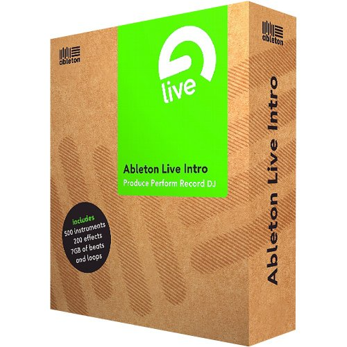 Ableton Live Intro, deutsch, inkl. neue Live Intro Library, 7GB