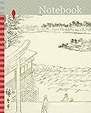 Notebook: Hilltop View from Yushima Tenjin Shrine (Yushima Tenjin sakaue tenbo), from the series One Hundred Famous Views of Edo (Meisho Edo hyakkei), ... 1797-1858, Japan, Woodblock print, oban
