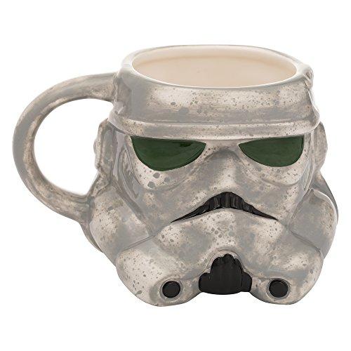 Vandor Star Wars Solo Mimban Mudtrooper 20 oz. Sculpted Taza De Cerámica