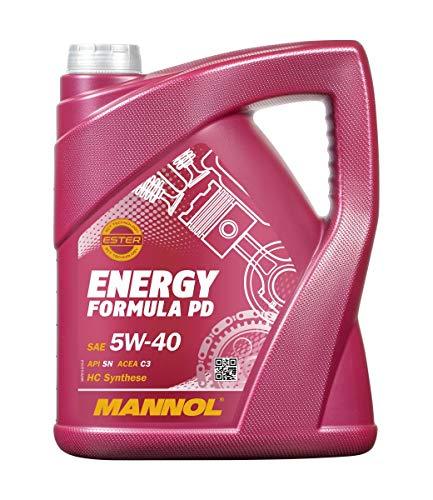 Mannol MN7913-5 Öl, Motoröl, 5 Liter