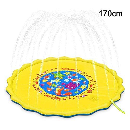 Sprinkle And Splash Speelmat Kids Sprinkler Toy Outdoor Water Toys Leuk Voor Zuigelingen En Peuters Kinderen Outdoor Party Sprinkler Toy Splash Pad