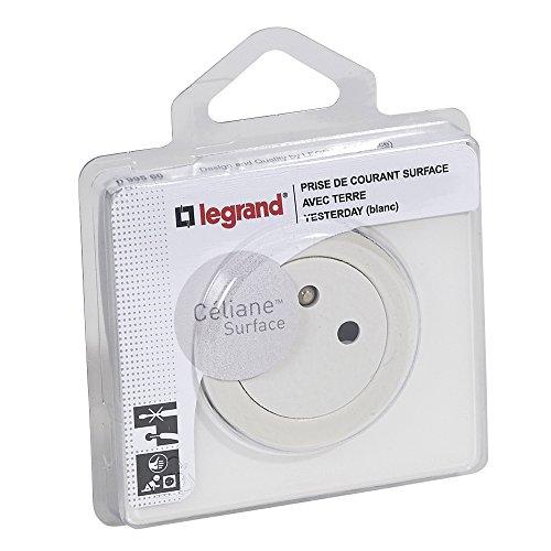 Legrand 099560 Céliane Prise de Courant avec Terre, 250V, Blanc