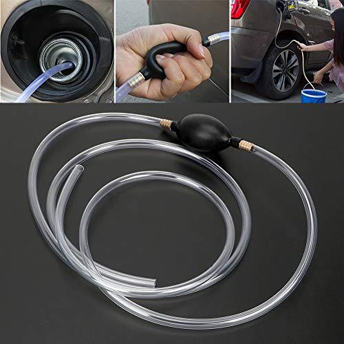 Benzin Diesel Flüssigkeit Handpumpe Autozubehör Wasser Ölförderpumpe PVC-Rohr Kraftstoffsparer Siphon Auto Kraftstoff Benzinpumpe