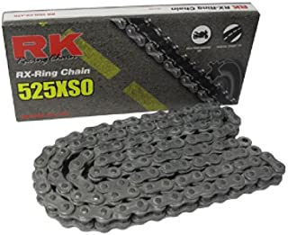 RK Racing Chain 525XSO-108 108-Links X-Ring Chain with Connecting Link
