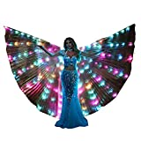 LED Isis Wings Light Up Rave Costume Festival Wear Halloween Costumes Burning Man