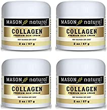 Collagen Beauty Cream Made with 100% Pure Collagen Promotes Tight Skin Enhances Skin Firmness 2 OZ. Jar PACK of 4