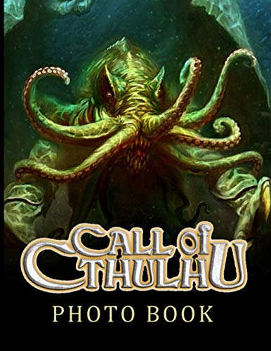 Cthulhu Photo Book: Cthulhu Unofficial High Quality Photo Book Books For Adults, Teenagers - (Exclusive Illustrations)