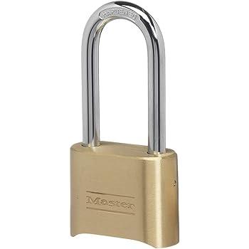 4-Dial Quantity 1 Brass Sesamee K440 Long-Shackle Combination Lock