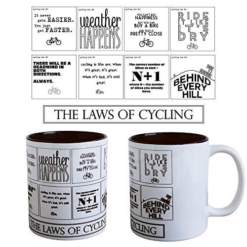 Le leggi di ciclismo–Funny Cycling tazza