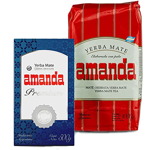 Juego de té Yerba Mate Amanda Tradial 1 kg + Amanda Premium...