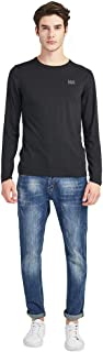 LUOLUOメリノウールTシャツ アウトドアインナー メリノウール インナーシャツ 100% 純天然ウール ブレスサーモ インナー クルーネックシャツ ベースレイヤー防寒肌着 長袖シャツ メンズ