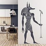 Ägyptische Anubis Wandaufkleber alten ägyptischen Stil Tapete nach Hause Wohnzimmer...