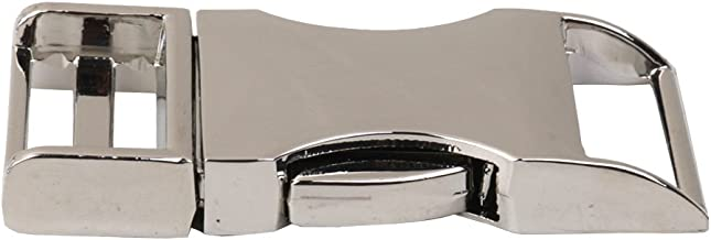 Seitenverschluss 25mm Sharplace 10pcs Metall Gekr/ümmten Klippverschluss Steckschlie/ßer