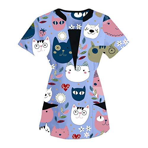 Nuevo Uniformes Sanitarios Mujer y Hombre, Pijama Sanitario, Uniforme Elegancia