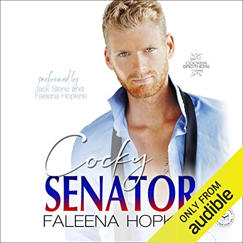 Cocky Senator audiobook cover art