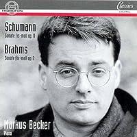 Schumann;Piano Sonata Op.11