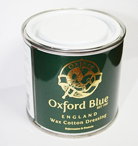 Oxford Blau Wachs für rewaxing Verband in Einer Dose für beleben Wachs Kleidung Jacken
