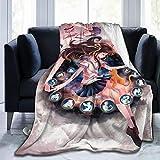 Fruits Basket Anime Throw Blanket Flannel Fleece Blanket 80'' x60