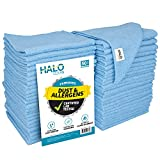 S&T INC. Microfiber Cleaning Cloths, Lab Tested, Reusable and Lint-Free Towels for Home, Kitchen and Auto